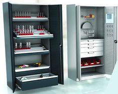Werkstattschrank für jedes Unternehmen Wir haben viele Typen der Werkstattschränke in unserem Sortiment. Die  sind in verschiedenen Maßen verfügbar. Die Schränke sind mit Schubladen  und Werkzeughaltern ausgestattet. Die Grundmodelle sind sofort  lieferbar. #Stahlschrank #Werkstattschrank #Werkzeugschrank #Metallschrank #Betriebseinrichtung #Werkstattausstattung Lockers, Locker Storage, Cabinet, Furniture, Home Decor, New Construction, Set Of Drawers, Clothes Stand, Decoration Home