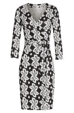 DIANE VON FURSTENBERG Silk Wrap Dress. #dianevonfurstenberg #cloth #dresses