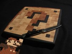 Community Post: Super Mario Cutting Board