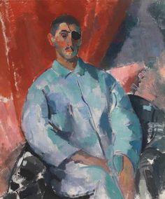 Rik Wouters (1882-1916) Zelfportret met de zwarte ooglap