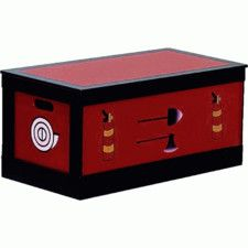 Funky Fire Engine Toy Box