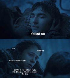 Game of thrones funny humor. Bran Stark