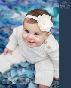 Hey, I found this really awesome Etsy listing at https://www.etsy.com/listing/110322329/ivory-baby-headbands-cream-newborn