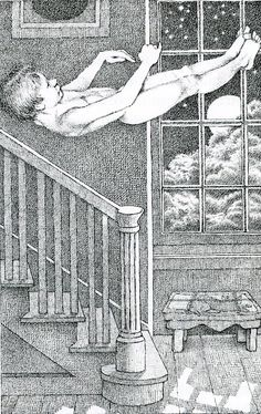 ¤ from 'Fly by Night' - Maurice Sendak illustration.book by Randall Jarrell. Hans Christian, Maurice Sendak, Book Writer, Children's Book Illustration, Illustrations Posters, Childrens Books, Illustrators, Fantasy Art, Fairytail