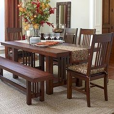Stickley Highlands Trestle Table | The Mission Home | Pinterest ...