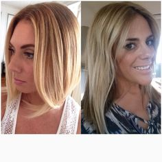 Some of blondes #balyage #highlights #blondes #bobcut