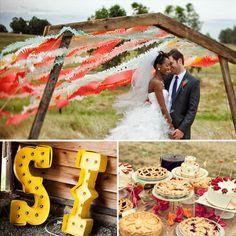 DIY Carnival Wedding - Want an altar similar to this maybe? Diy Wedding, Wedding Events, Wedding Ceremony, Wedding Photos, Dream Wedding, Wedding Day, Wedding Stuff, Fantasy Wedding, Wedding Pins