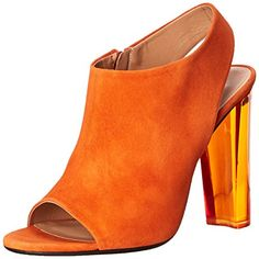Calvin Klein Collection Women's Kena Dress Sandal, Saffron, 40 BR/9 M US -- To view further for this item, visit the image link.