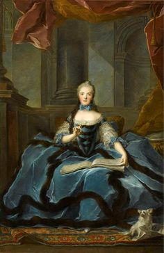 Madame Adelaide in 1766 by Nattier