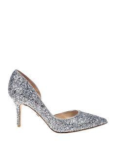 Platino Daisy Pointed Toe Evening Shoe