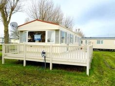 Cheap Static Caravan - Huge Decking Included - 12 Month Season in Clacton-On-Sea