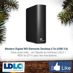 Western Digital WD Elements Desktop 2 To (USB 3.0) => http://www.ldlc.com/fiche/PB00173338.html#53302f3f2a970