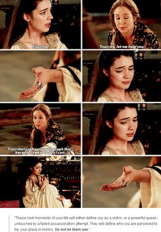 This was so emotional. Adelaide Kane was phenomenal.