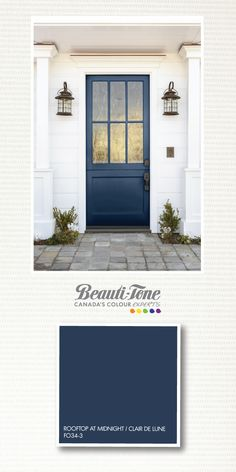 This #colour channels the mystical magic of a night sky, to create an entrance of infinite beauty.