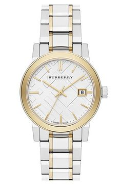 I love Burberry and I love watches.  What's better than a Burberry watch?