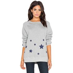 Hye Park and Lune Starry Sweatshirt Loungewear (865 NOK) ❤ liked on Polyvore featuring tops, hoodies, sweatshirts, sweatshirts & hoodies, graphic hoodie, hoodie sweatshirts, graphic sweatshirts, white hoodie и white cotton hoodie