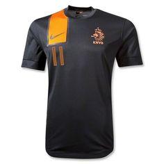 a6a6e332d Netherlands ROBBEN Away Soccer Jersey Football Shirts