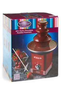 Nostalgia Electrics Chocolate Fondue Fountain available at #Nordstrom