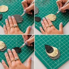 DIY earrings The post Fringe earrings FTW! DIY earrings appeared first on Best Of Daily Sharing. Diy Leather Earrings, Leather Jewelry, Beaded Jewelry, Handmade Jewelry, Handmade Wire, Tassle Earrings Diy, Jewelry Findings, Diy Earrings Easy, Dangle Earrings