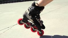 How to improve your balance, stability and steering on inline skates or rollerblades.