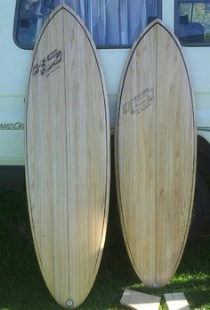 New chambered hollow wood surfboards
