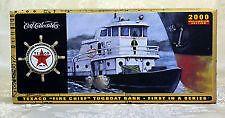 "1967 Texaco ""Fire Chief"" Model Tugboat Bank, #1 in Nautical Series MIB Ertl 2000 #TEXACO"