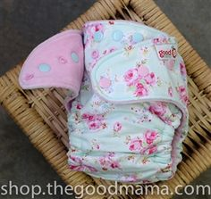 Goodmama Lily Belle Fitted Diaper - One-Size TURNED (woven)