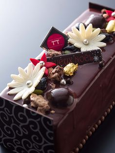 Michelin star Chef's Christmas cake...