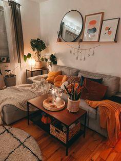 Cozy Living Room Warm, Boho Living Room, Living Room Sets, Living Room Designs, Living Room Warm Colors, Interior Design Living Room Warm, Living Room Styles, Living Room Decor Cozy, Living Room Paint