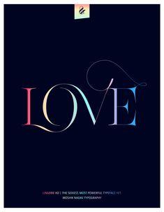 Love. Made with Lingerie XO - The Sexiest, Most Powerful Typeface Yet. Designed by Moshik Nadav Typography. Available on ww.moshik.net #lingeriexo #xo #typography #type #newfont #newtypeface #fonts #font #typeface #fashion #fashiontypography #fashionmagazine #logo #logotype #moshik #moshiknadav #ligatures #ligature #typografie #swashes #graphicdesign #branding #packaging
