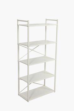 High Metal Shelf - Shop New In - Furniture - Shop Metal Shelves, Wall Shelves, Floating Shelves, Shelf, Large Furniture, Metal Furniture, New Furniture, Mr Price Home, Bookcase