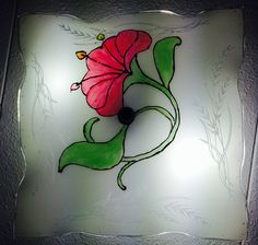Did it myself (DIM) glass painting.