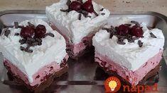 Čierny les: Úplne jednoduchý zákusok ku kávičke aj na oslavu s dokonalou chuťou – číslo 1 pre našu rodinu! Cake Cookies, Dessert Recipes, Food And Drink, Pudding, Sweets, Drinks, Creativity, Creative, Drinking