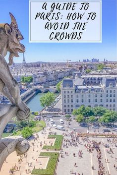 Paris is the city of crowds that is for sure! This guide to Paris will help you get those perfect crowd less shots at the most important sights in Paris. #paris #parisfrance #france #notredame #eiffeltower #europe