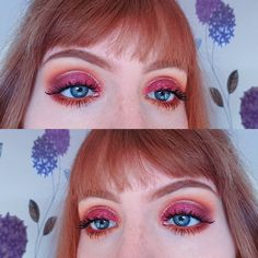 "113 gilla-markeringar, 3 kommentarer - Lucy (@lucy_anna) på Instagram: ""Lacking ideas lately 🙄 . . . . #autumn #gold #glitter #pink #orange #katvond #saintandsinner…"""