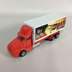 Mattel Hot Wheels Haulers McDonalds 1/11.5 Diecast Truck Big Mac Advertising #Mattel