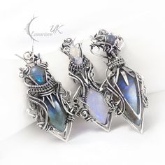 collection of necklaces VII  Lunarieen UK by LUNARIEEN.deviantart.com on @deviantART