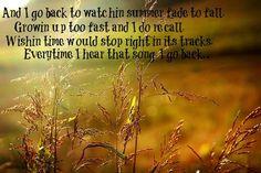 I go back - Kenny Chesney