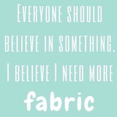 What do you believe in? http://ift.tt/1VI3q5X #theozmaterialgirls #tomgfabric #sewfunny #fabriclove #fabricaustralia #tomgfunny #fabricaddict #sewing #quilting