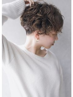 Curly Hair Cuts, Short Curly Hair, Short Hair Cuts, Curly Hair Styles, Tomboy Hairstyles, Permed Hairstyles, Pretty Hairstyles, Hair Inspo, Hair Inspiration