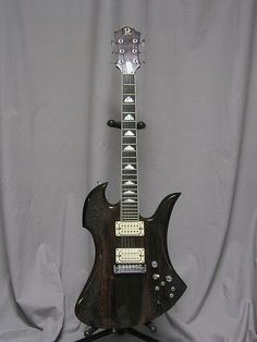 Joe Perry B.C. Rich Mockingbird by guitartech, via Flickr