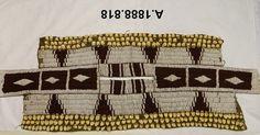 Sioux woman's dress cape, mid 19th century, Nat. Mus. Scotland   ac