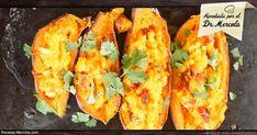 Lleve los camotes a otro nivel con esta deliciosa receta de camote relleno al estilo del suroeste. http://recetas.mercola.com/receta-de-camote-relleno-al-estilo-suroeste.aspx