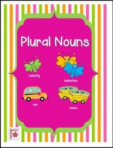 """FREE LANGUAGE ARTS LESSON – """"Plural Nouns Lesson"""" - Go to The Best of Teacher Entrepreneurs for this and hundreds of free lessons. 3rd - 5th Grade  #FreeLesson   #LanguageArts   http://thebestofteacherentrepreneursmarketingcooperative.net/free-language-arts-lesson-plural-nouns-lesson/"""
