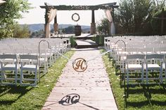 Outdoor wedding venu