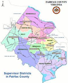 Fairfax county public schools boundary