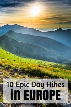 best hiking destination in europe