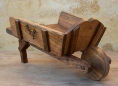 carretillas para jardin de madera - Buscar con Google