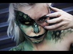 ▶ The Lizard - Halloween Makeup Time-Lapse - YouTube