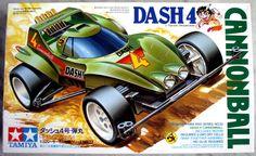 Tamiya Dash-4 Cannonball Golden Body Mini Racing 4-WD Made In Japan 1990 #Tamiya